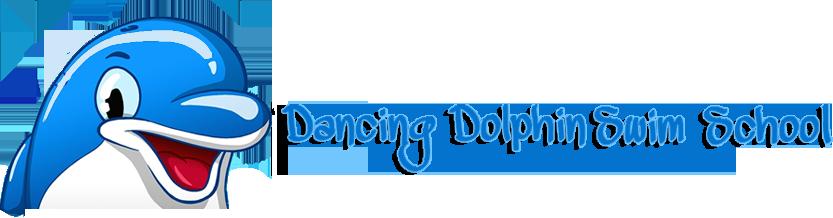 Dancing Dolphin Swim School Logo